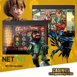Netent casinos en ligne